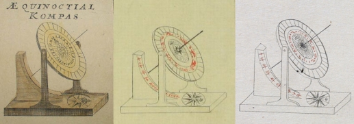 Gunkan zukai sundials